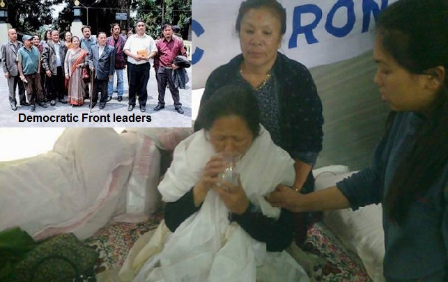 Democratic Front leaders - Bharati Tamang  fast on to death