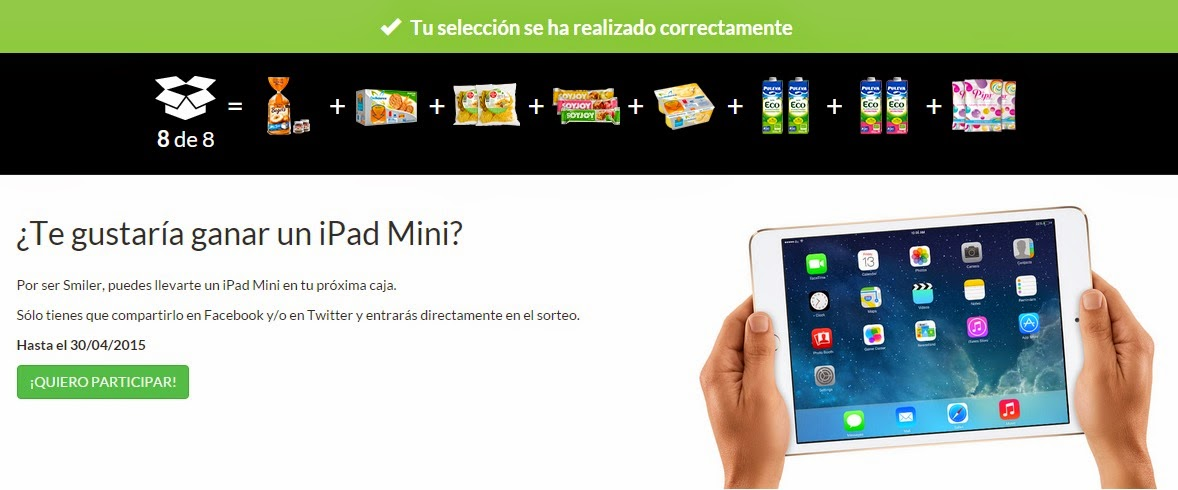 Sorteo SmileBox abril 2015
