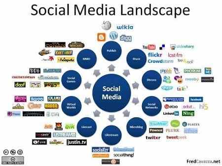 Social Media on web development for small business