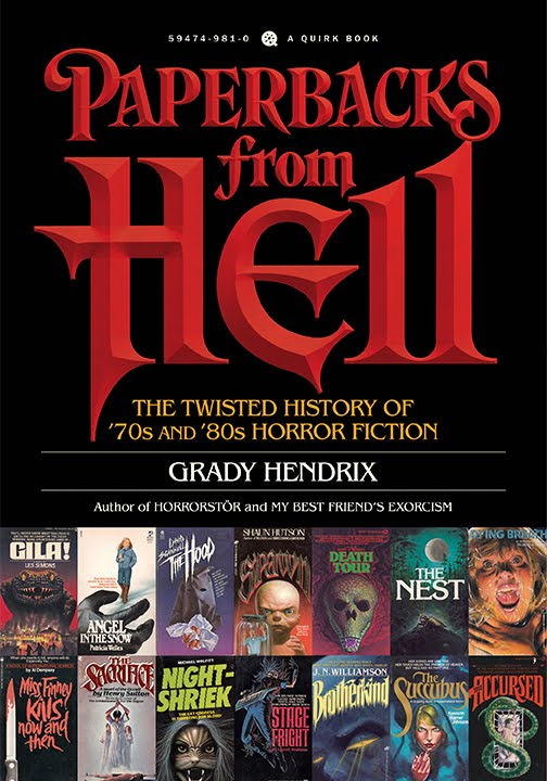 Co-author of Stoker Award-winning PAPERBACKS FROM HELL!