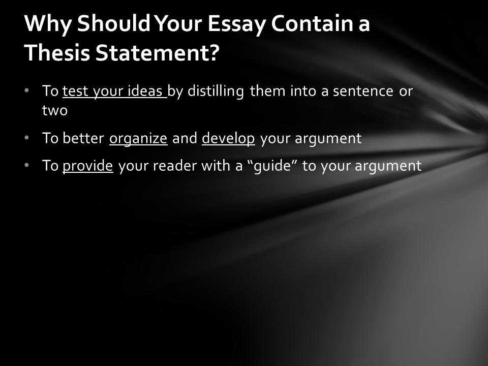 Essay on meterology...?