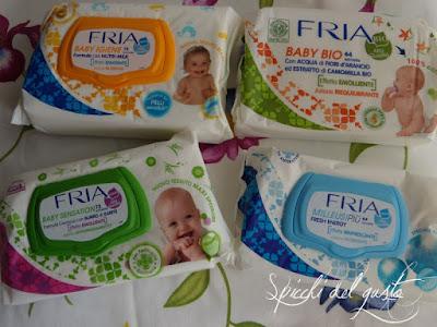 Salviettine umidificate baby Fria