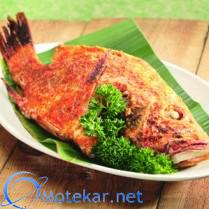 Inilah resep ikan kakaap panggang super nikmat, cara memasak ikan kakap panggang