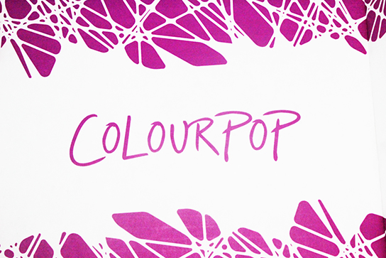 colourpop logo. i know have not posted anything in a really long time but been on buying spree lately and just got bunch of stuff from colourpop logo
