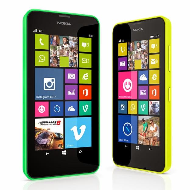 Harga HP Nokia Lumia 630 Terbaru dan Spesifikasi