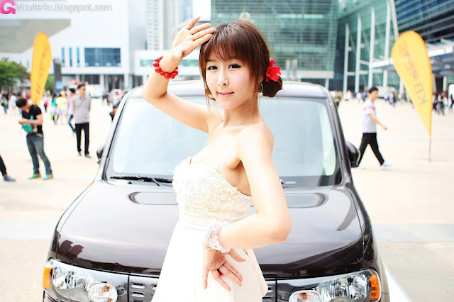 2 Seo Yoon Ah for Nissan Cube-very cute asian girl-girlcute4u.blogspot.com