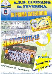 Tessera Sostenitore ASD LUGNANO stagione 2011-2012