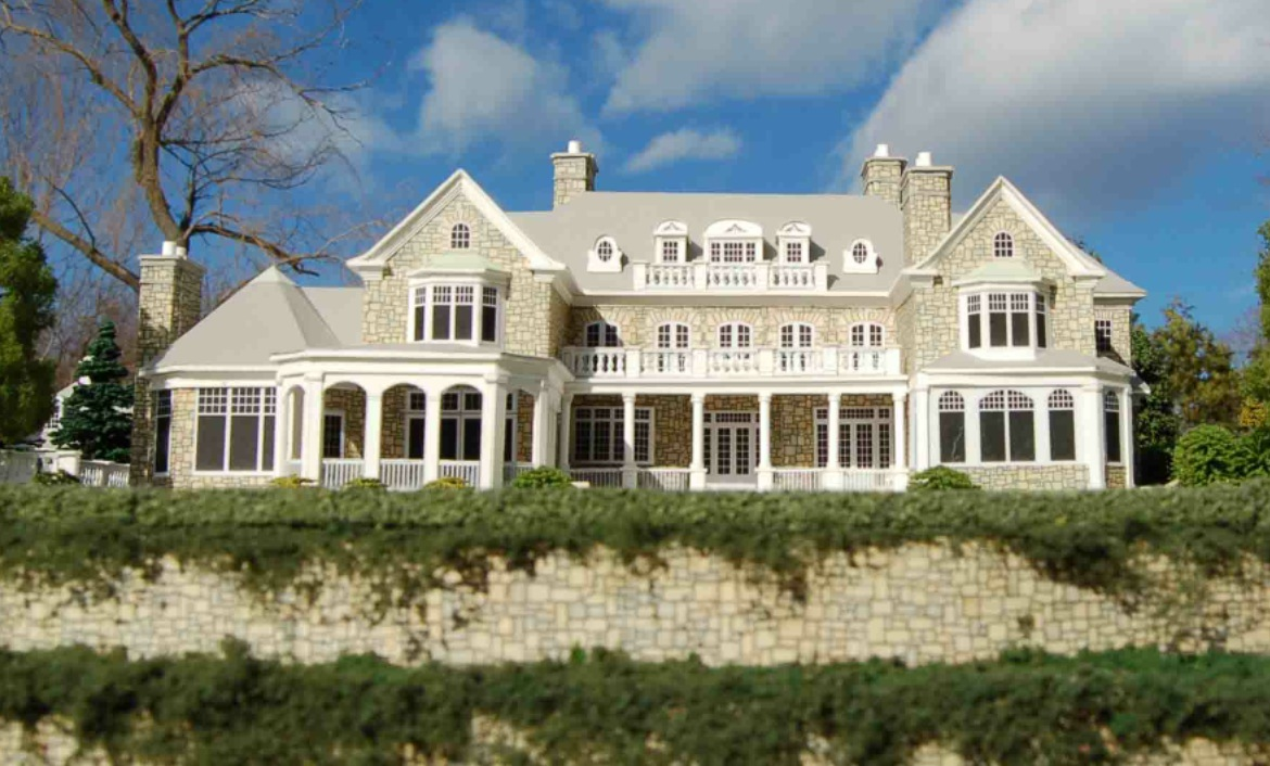 Architectural house models of houses in the hamptons long for Houses of the hamptons