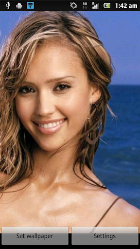 Beauty By Jessy Jessica Alba iPhone wallpapers