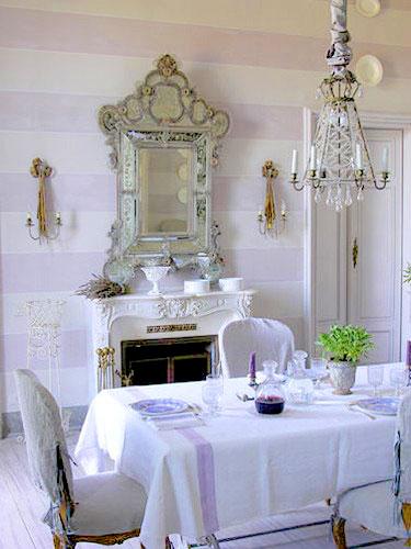 Casinha Bonitinha Decoração provençal Correios, virose, blogger, obra -> Decoracao Banheiros Estilo Provencal