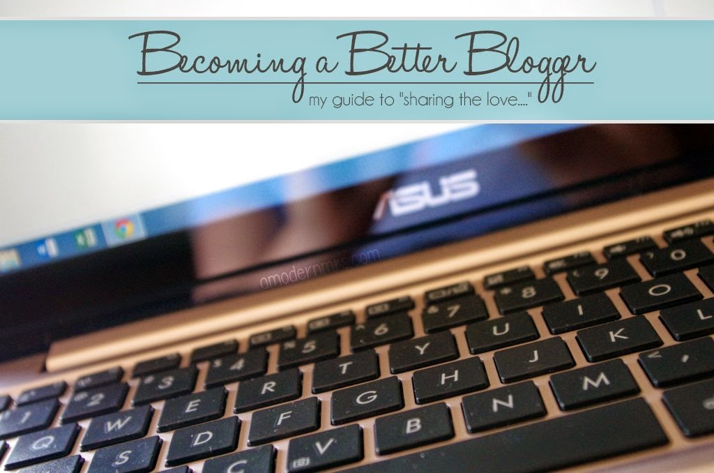 Becoming a Better Blogger — A Modern Mrs.
