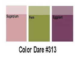 Color Dare #313 - Closes Thur Oct 18th
