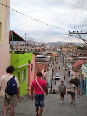 Santiago de Cuba steps padre pico