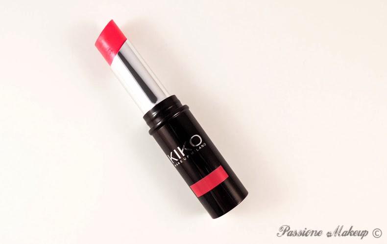 Kiko Latex Like Lipstick Glare Fuchsia