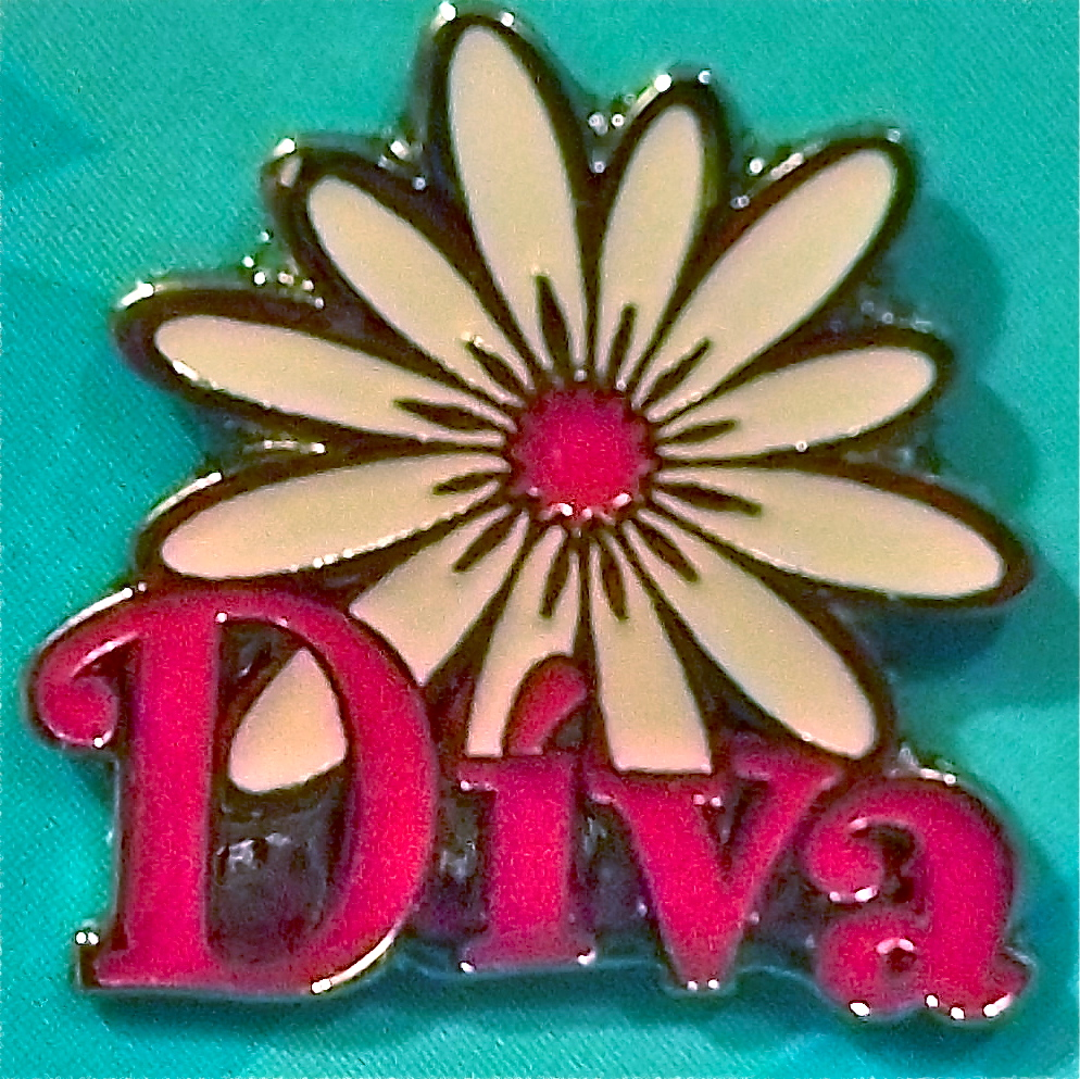 Diva cup pin