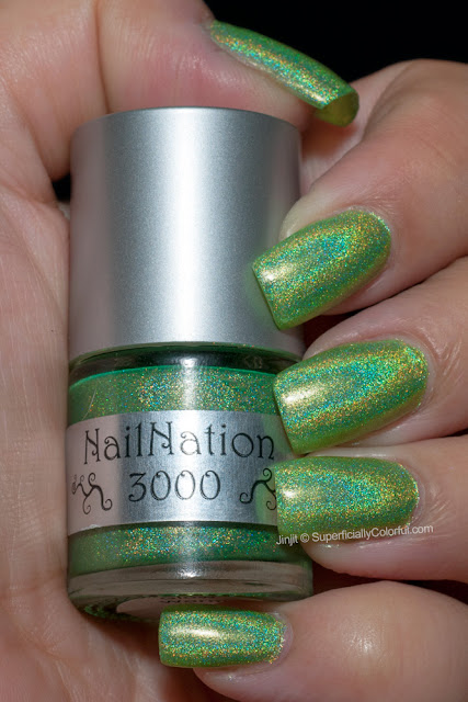 NailNation 3000 Glow Worm