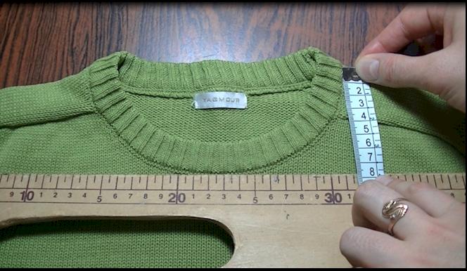 вязание спицами. горловина