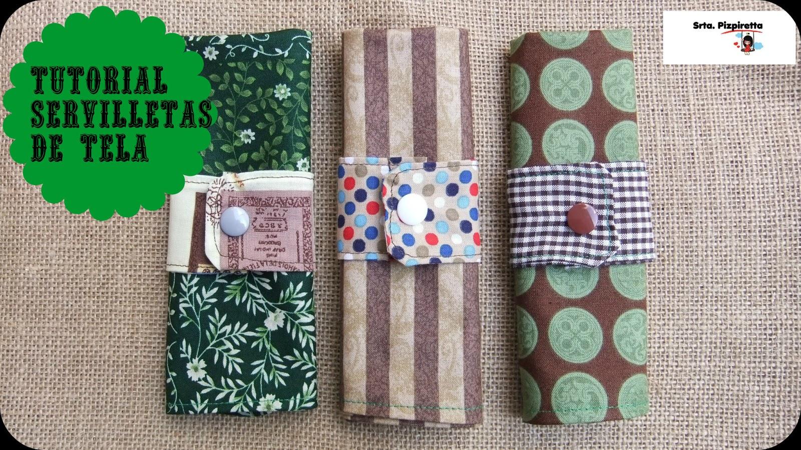 Como coser una servilleta imagui - Como doblar servilletas de tela ...