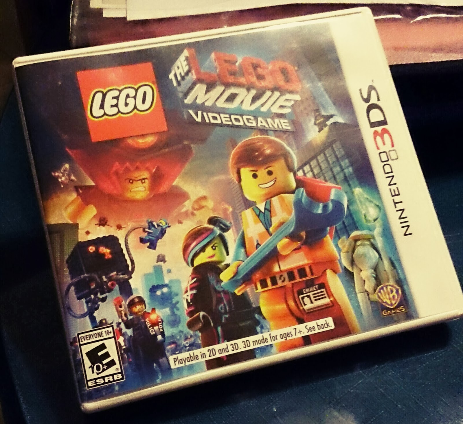 the lego movie, the lego movie videogame, lego, video game, nintendo 3ds