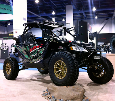 Arctic Cat Wildcat Build for SEMA 2012 Show