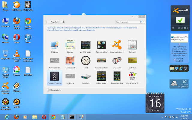 Download Stylish Windows 8 Gadgets