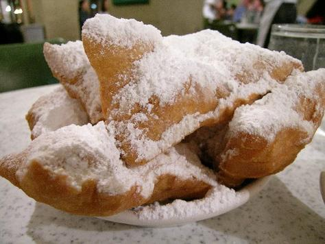 ... in the Big City: Beignets (Fried Dough) from the French Quarter