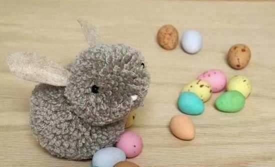 Macam Kerajinan Tangan, Cara Membuat Kelinci Wool