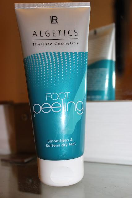 foot peeling, gommage pied LR