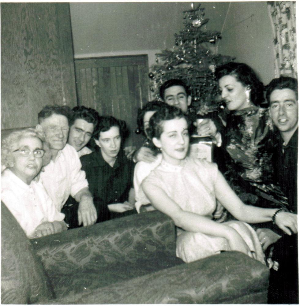 Christmas circa 1957