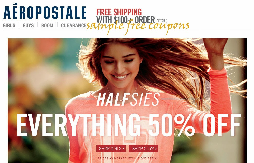 Exclusive gt aeropostale coupons when you sign up for emails