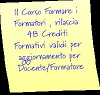 Crediti Formativi per Docenti/Formatori !