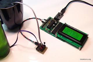 Подключение нескольких датчиков DS18B20 к BlockDuino