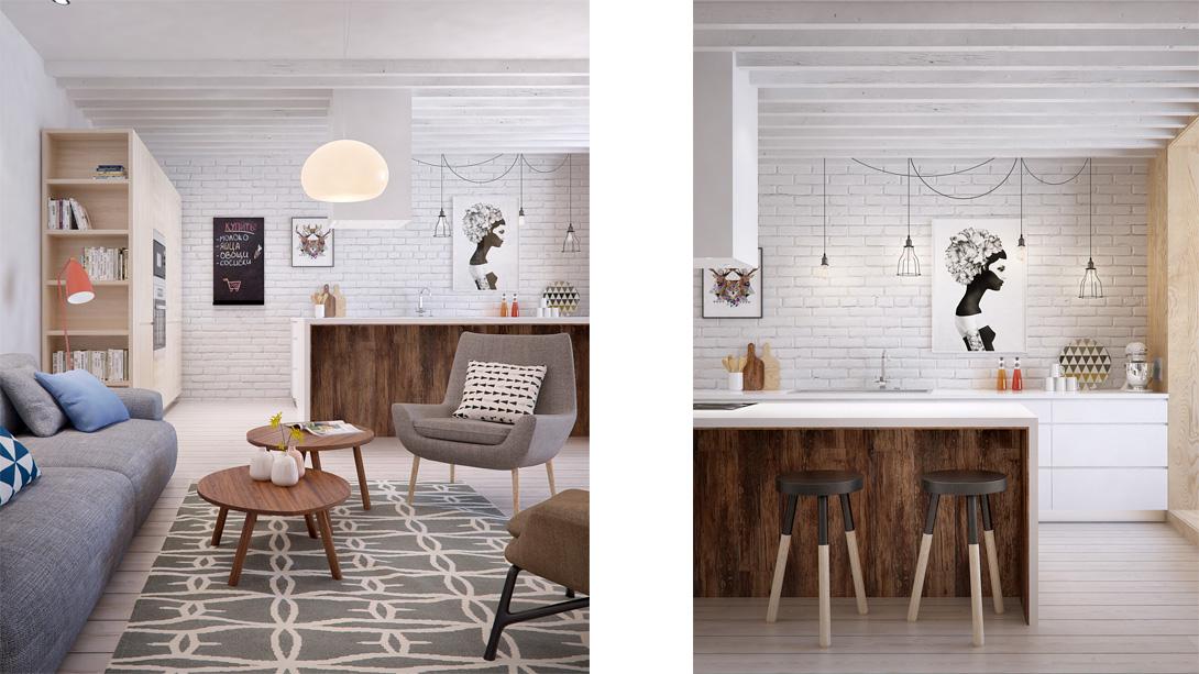 Appartamento interior id by int2architecture arc art blog by daniele drigo - Finestra a due archi ...