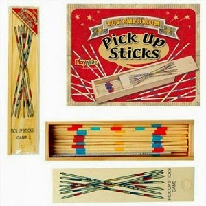 Traditional Pick-Up Sticks Game