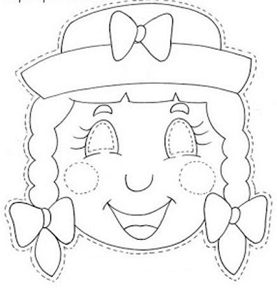 Dibujos y Plantillas para imprimir: mascaras de carnaval para ...