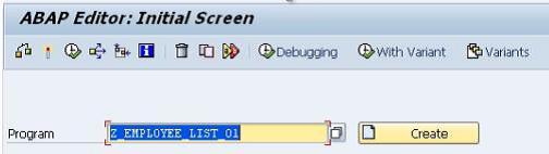 Debugging SAP ABAP Programs