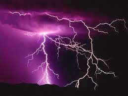 How thunder happens in the sky?