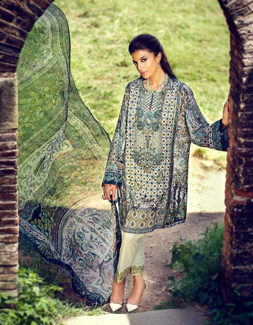 Pakistani lawn collection