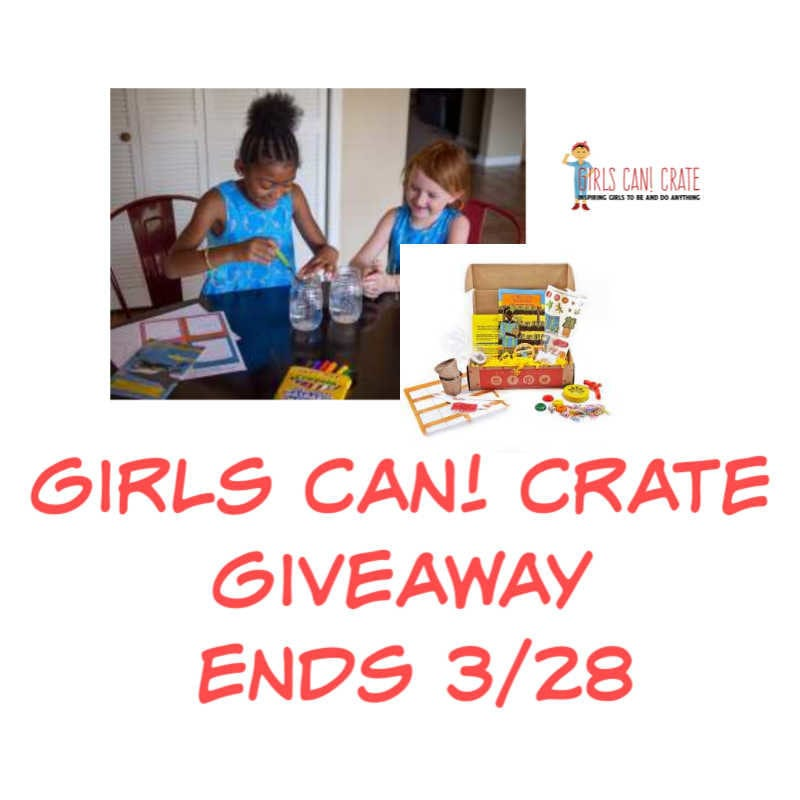 Girls Can! Crate Giveaway