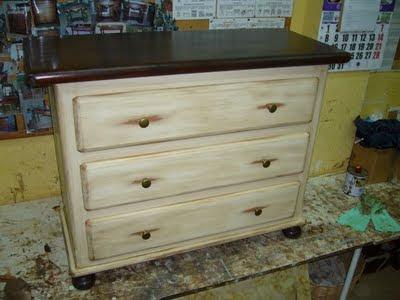 la restauradora muebles patinados algunos trabajos