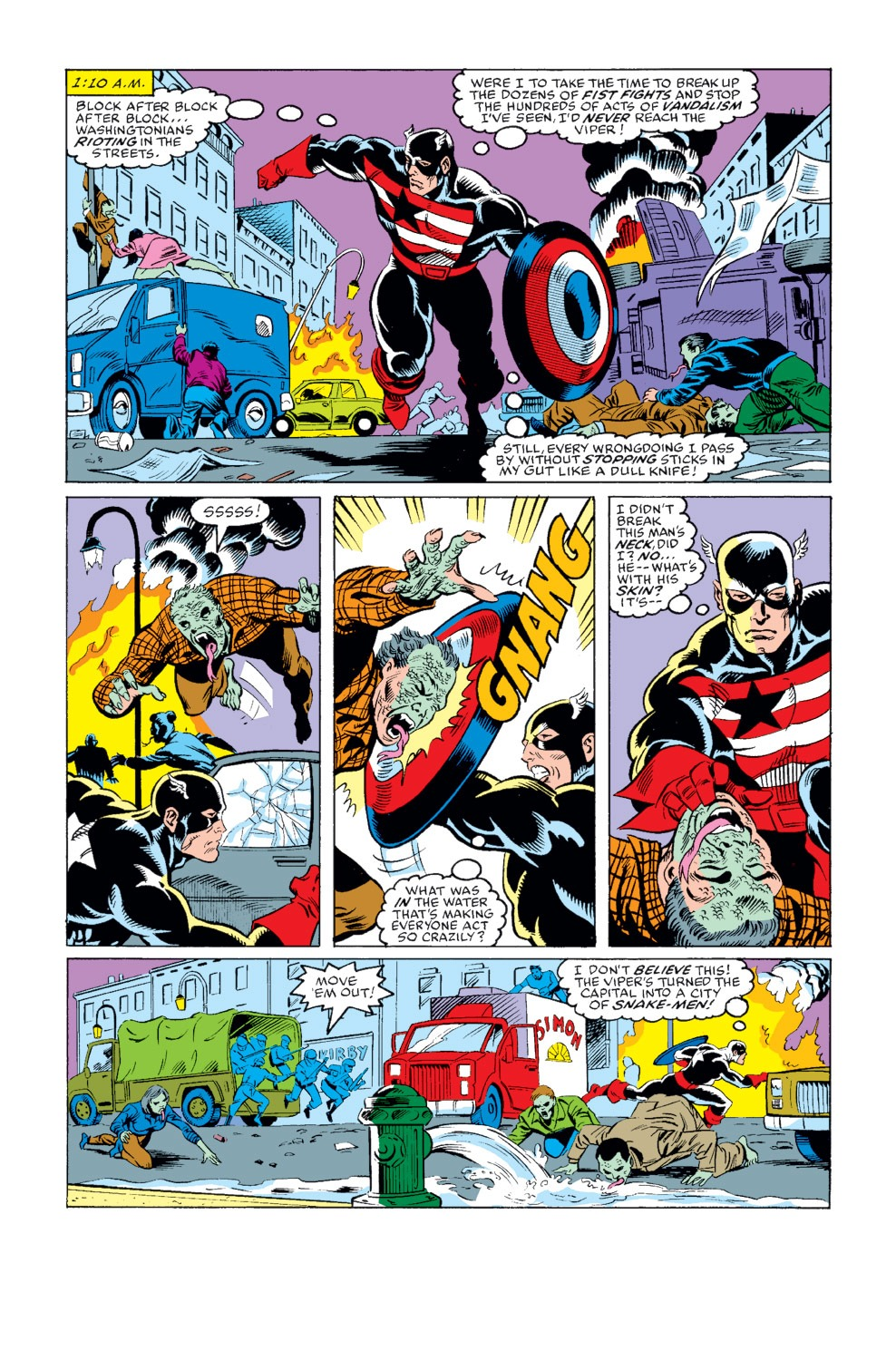 Captain America (1968) Issue #344 #274 - English 27