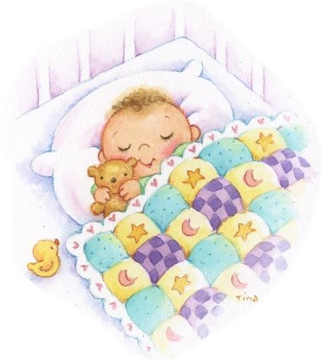 dibujos de bebes durmiendo - Imagenes y dibujos para imprimir