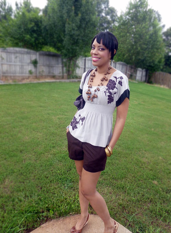 Colour blocking style blogger summer fashion