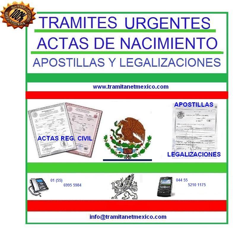Tus tramites en México: Como obtener mi acta de nacimiento ...