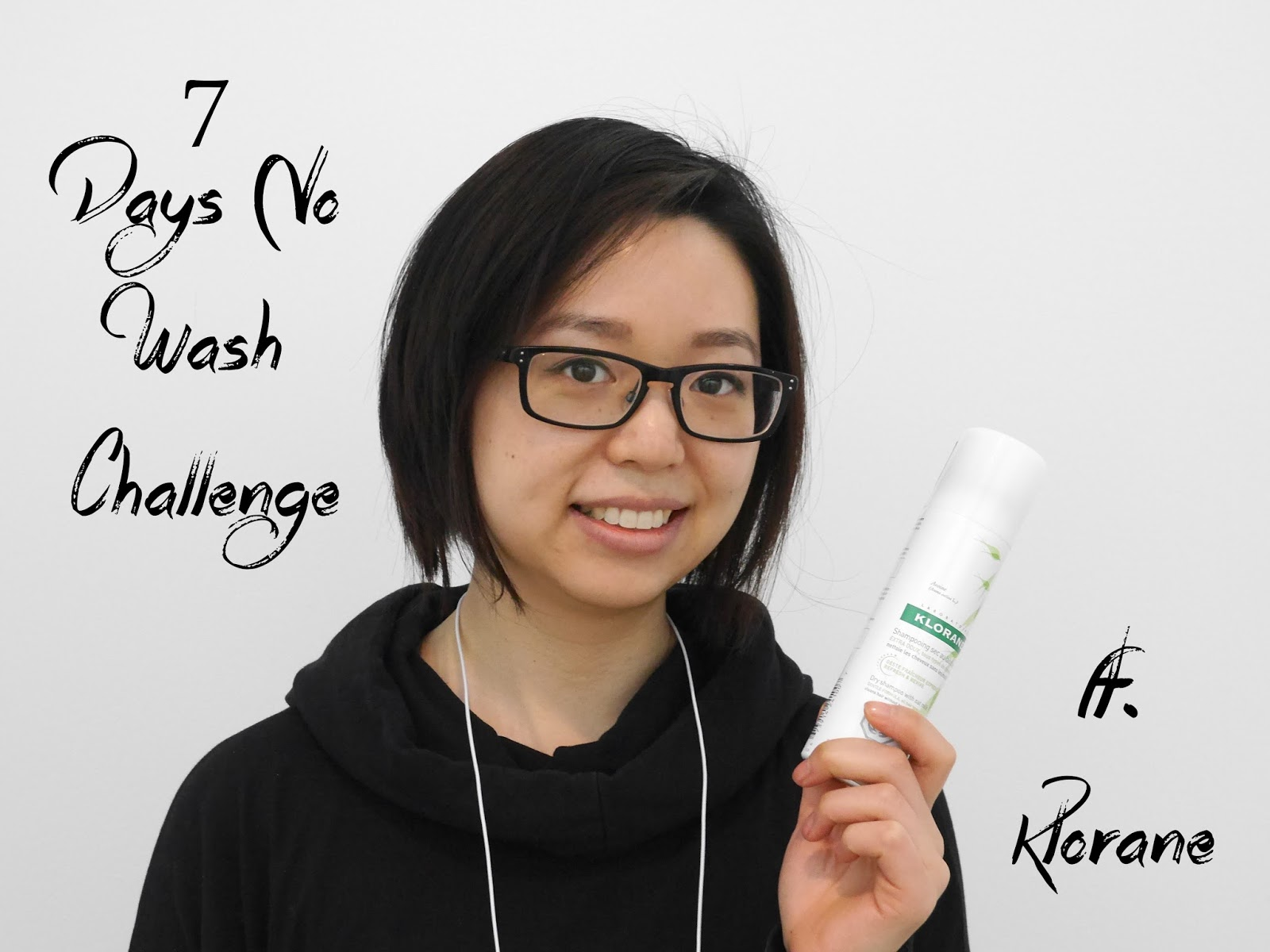 7 day no wash klorane dry shampoo review