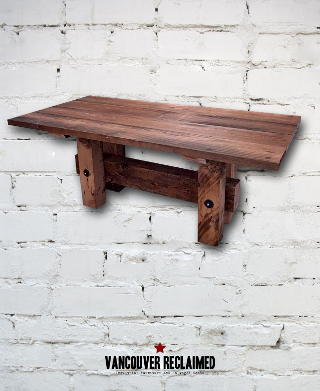 Dining Table Reclaimed Wood Dining Table Vancouver