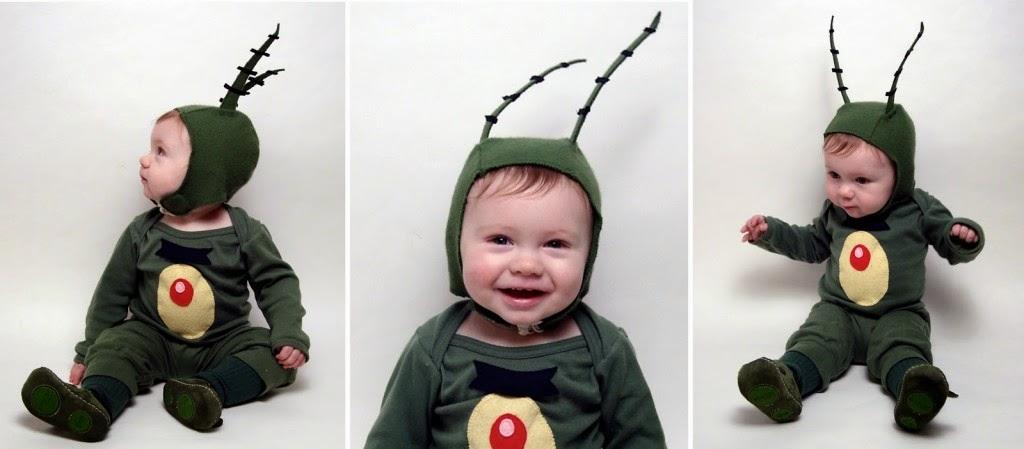 Disfraz bicho bebe