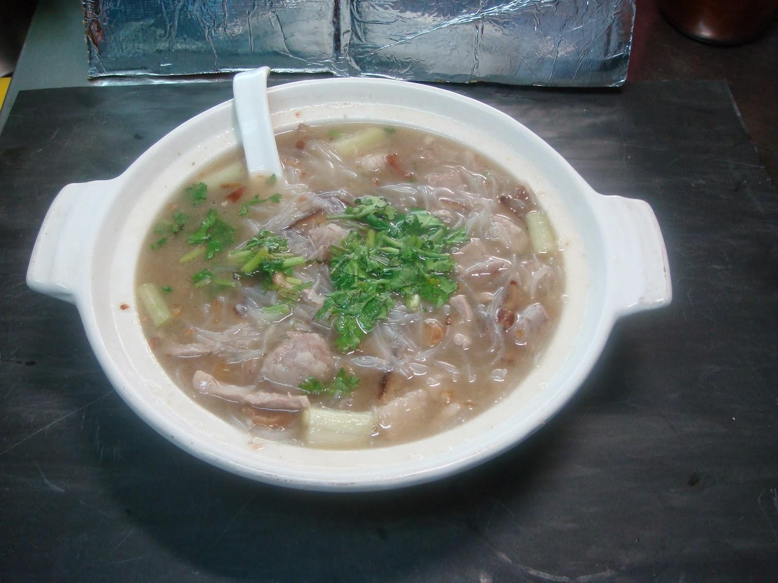 葱香米粉湯 (油葱特製ダシの汁ビーフン)