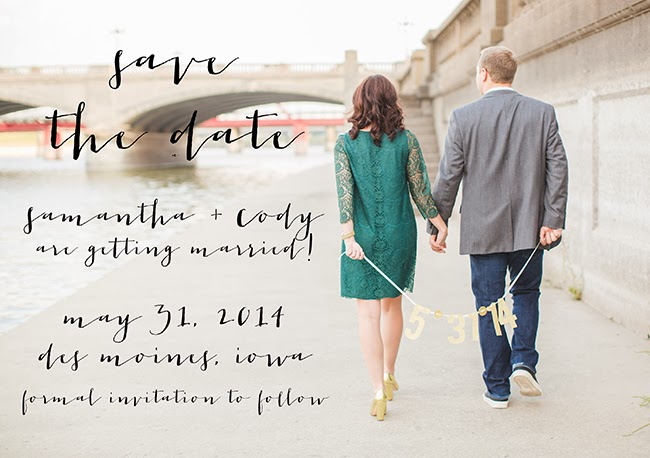 Wedding Blog DIY Save the Dates