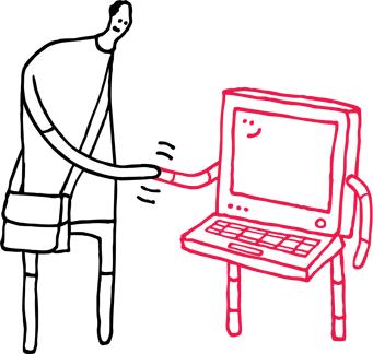 Illustration Gut zu wissen Daten im Netz